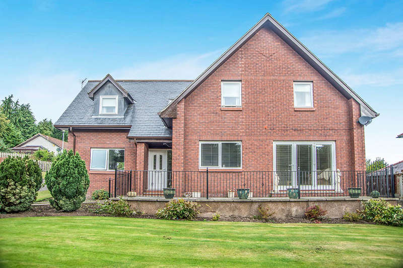 4 Bedrooms Detached House for sale in Ryecroft View, Wooler, NE71
