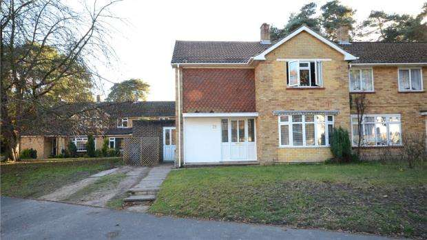 4 Bedrooms Semi Detached House for sale in Nightingale Crescent, Bracknell, Berkshire