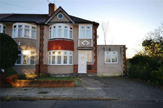 4 Bedrooms Semi Detached House for sale in Elms Park Avenue, WEMBLEY, Middlesex