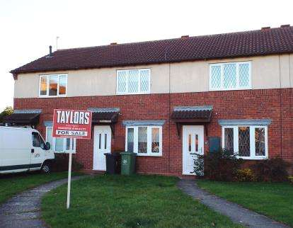 2 Bedrooms Terraced House for sale in Teeswater Close, Worcester, Worcestershire, Uk