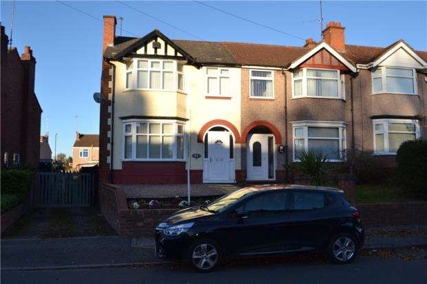 3 Bedrooms End Of Terrace House for sale in Tennyson Road, Poets Corner, Coventry, West Midlands
