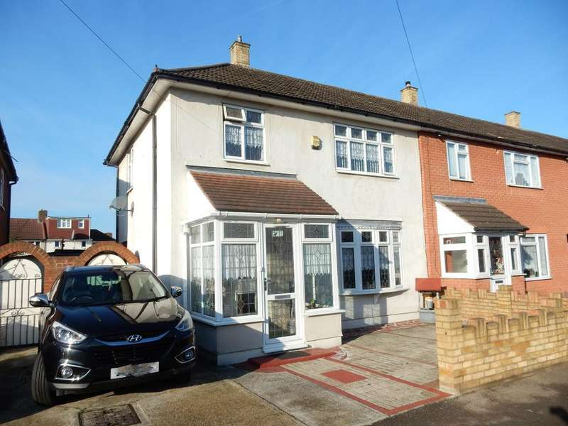 3 Bedrooms End Of Terrace House for sale in Marston Avenue, Dagenham, Essex, RM10 7LJ