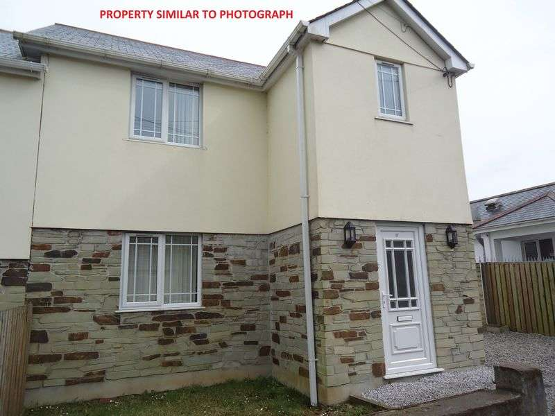 3 Bedrooms Semi Detached House for sale in Roche Road, St. Austell