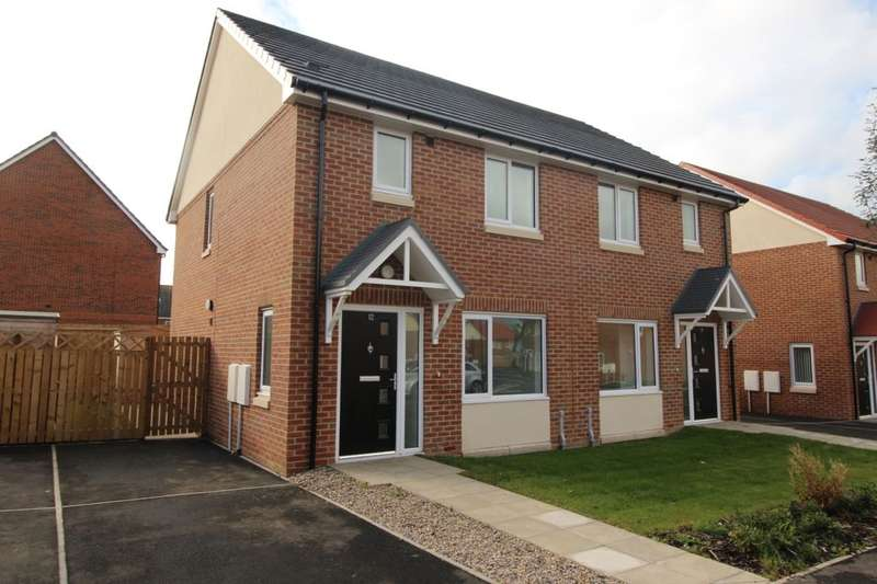 2 Bedrooms Semi Detached House for sale in Celandine Close, Glebe Road, Darlington, DL1