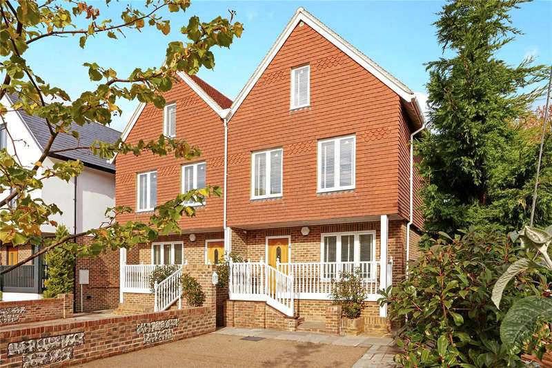 4 Bedrooms Semi Detached House for sale in Castle View, The Street, Bramber, West Sussex, BN44