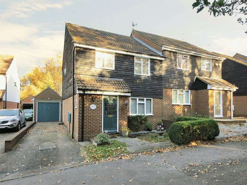 3 Bedrooms Semi Detached House for sale in Browns Wood, East Grinstead, West Sussex