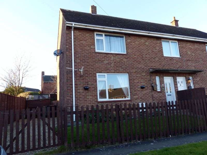 2 Bedrooms Semi Detached House for sale in Dale View Road, Brookenby, Market Rasen