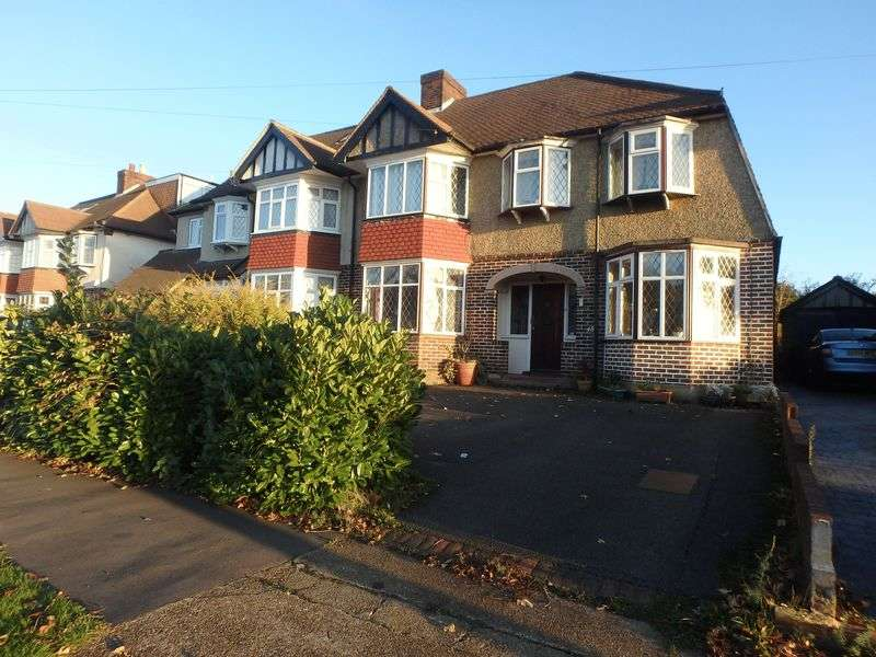 4 Bedrooms Semi Detached House for sale in Thorndon Gardens, Epsom