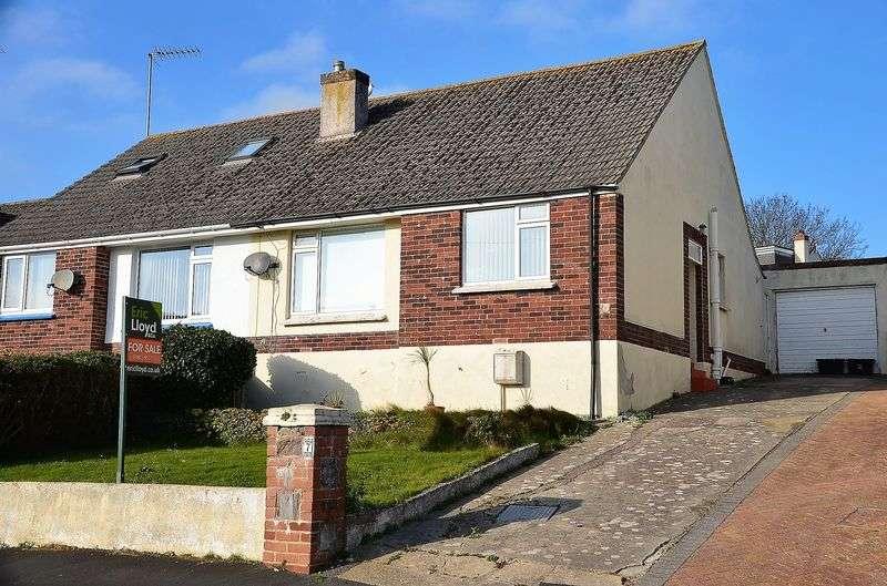 2 Bedrooms Semi Detached Bungalow for sale in LONGCROFT AVENUE BRIXHAM