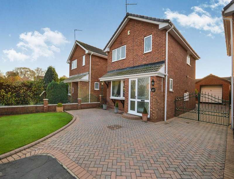 3 Bedrooms Detached House for sale in Manor Farm Close, Adwick-le-Street, DONCASTER, DN6
