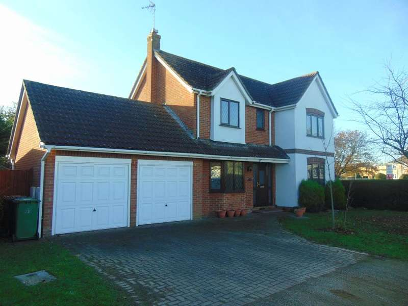 4 Bedrooms Detached House for sale in Kestrel Drive, Wisbech, Cambridgeshire, PE13 2TS