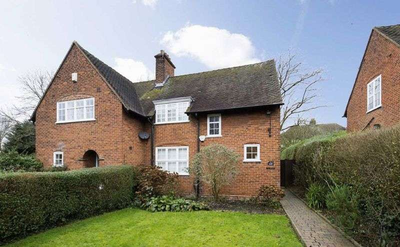 2 Bedrooms Semi Detached House for sale in Falloden Way, Hampstead Garden Suburb London NW11