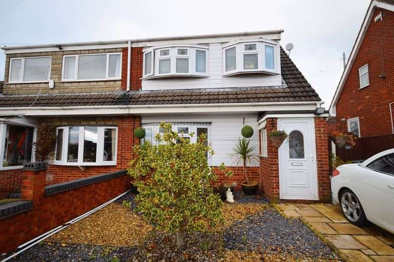 3 Bedrooms Semi Detached House for sale in Forsyte Road, Longton