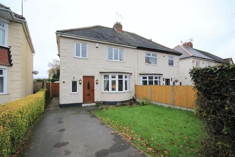 3 Bedrooms Semi Detached House for sale in MORLEY ROAD, CHADDESDEN