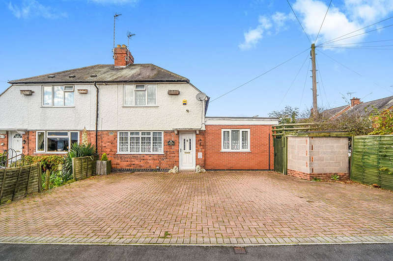 3 Bedrooms Semi Detached House for sale in The Avenue, Glenfield, Leicester, LE3