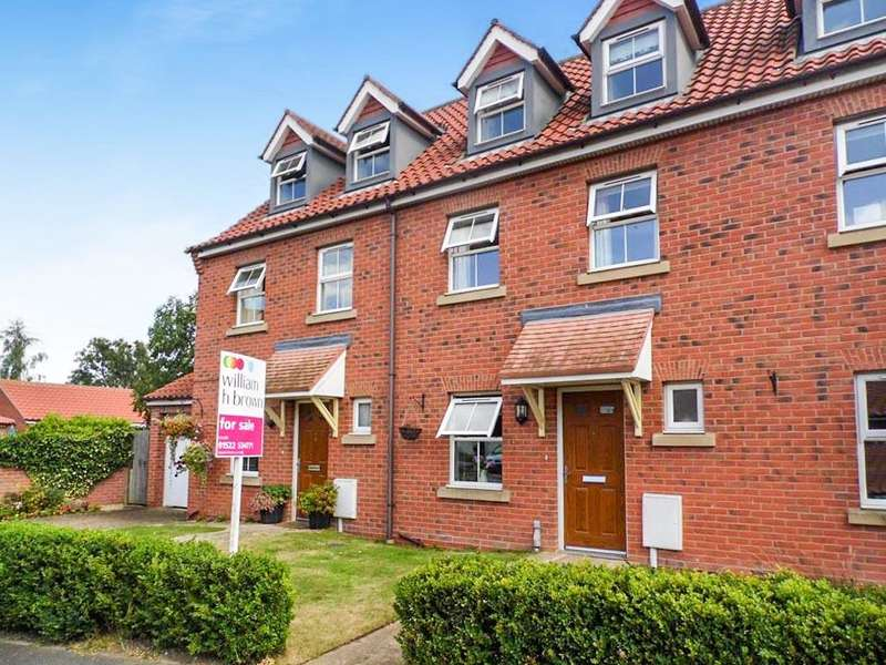 3 Bedrooms Town House for sale in Ash Tree Way, Bassingham, Lincoln, LN5