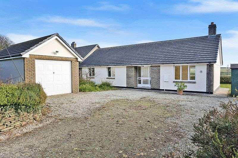 3 Bedrooms Detached Bungalow for sale in Aldercombe Lane, Kilkhampton