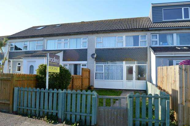 3 Bedrooms Terraced House for sale in Higher Boskerris, Carbis Bay, St. Ives, Cornwall