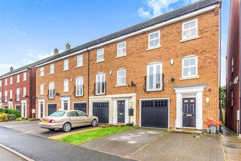 4 Bedrooms Town House for sale in Attingham Drive, Dudley, DY1
