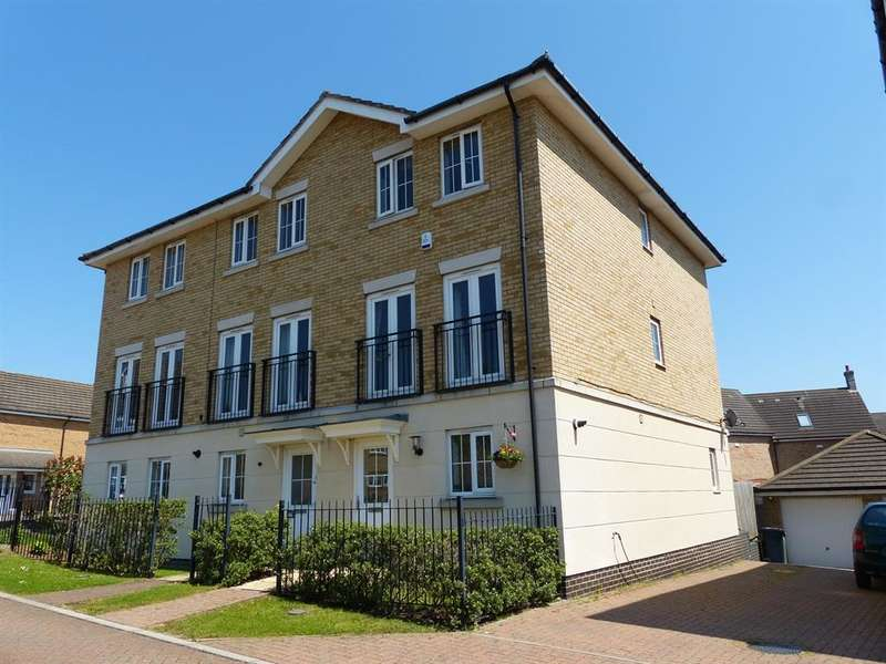 3 Bedrooms End Of Terrace House for sale in Marius Crescent, Hampton Hargate, Peterborough, PE7