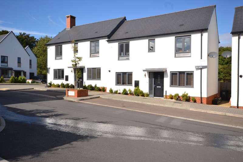 3 Bedrooms Semi Detached House for sale in Milbury Farm Meadow, Exminster, Devon, EX6