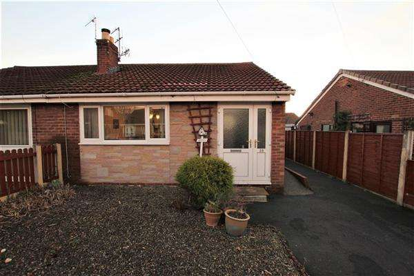 2 Bedrooms Semi Detached Bungalow for sale in Arrowsmith Close, Hoghton, Preston