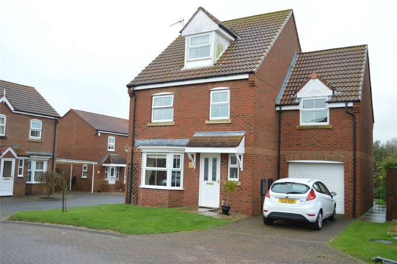 4 Bedrooms Detached House for sale in 7 Swallow Close, Hornsea, East Riding of Yorkshire
