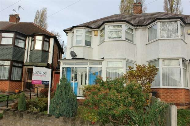 3 Bedrooms Semi Detached House for sale in Winterton Road, Birmingham, West Midlands