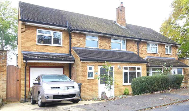 4 Bedrooms Semi Detached House for sale in 4 DOUBLE BED WITH GREAT VIEW IN Musk Hill, CHAULDEN, HP1