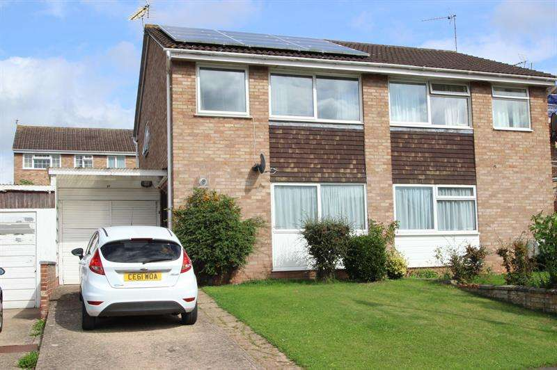 3 Bedrooms Semi Detached House for sale in Roman Way, ROSS ON WYE