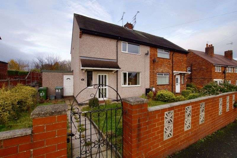 2 Bedrooms Semi Detached House for sale in Glanrafon, Wrexham