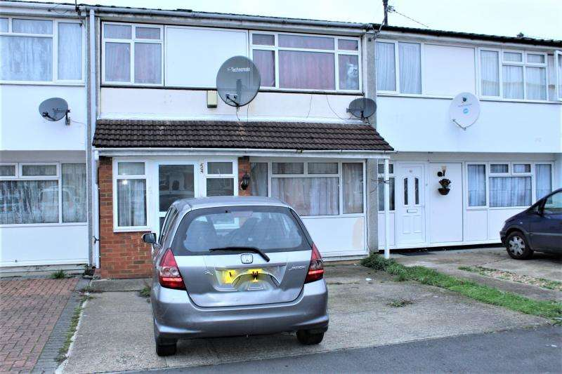 2 Bedrooms Terraced House for sale in Tintern Close