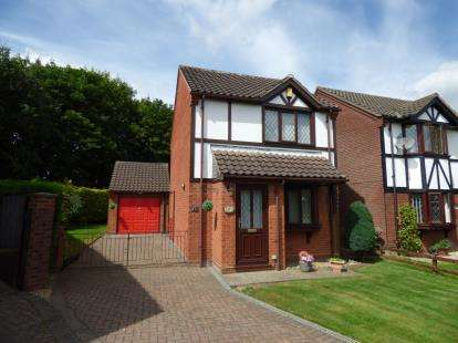 2 Bedrooms Detached House for sale in Burneside Close, Lincoln, Lincolnshire
