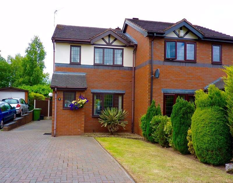 2 Bedrooms Semi Detached House for sale in St James Court, Rhosddu Road, Wrexham