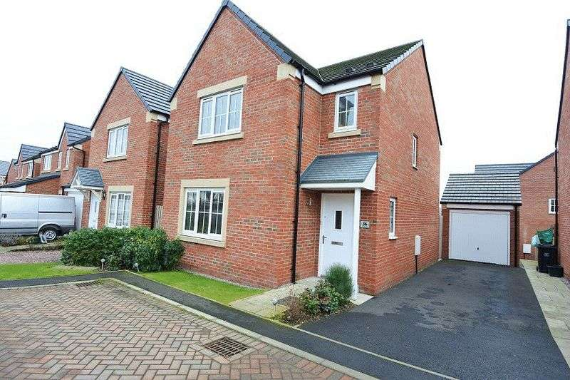 3 Bedrooms Detached House for sale in Barley Edge, Carlisle