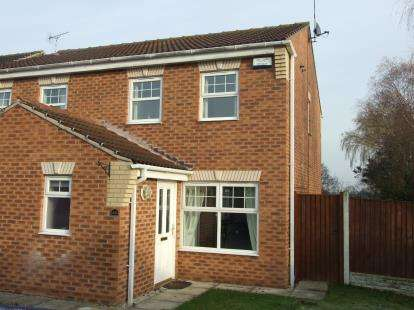 3 Bedrooms Semi Detached House for sale in Old Tannery Drive, Lowdham, Nottingham