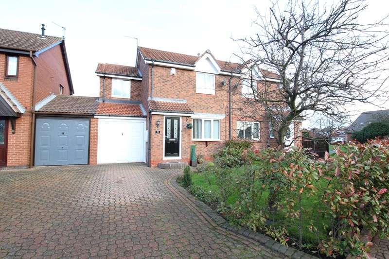 3 Bedrooms Semi Detached House for sale in Woodvale Drive, Hebburn