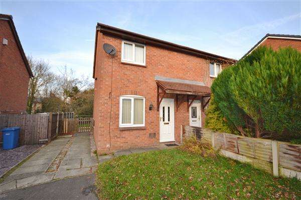 2 Bedrooms Semi Detached House for sale in The Oaks, Eaves Green, Chorley,, Chorley