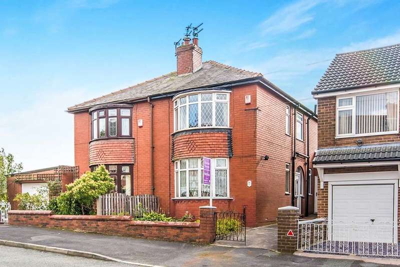 3 Bedrooms Semi Detached House for sale in Brownlow Avenue, Royton, Oldham, OL2