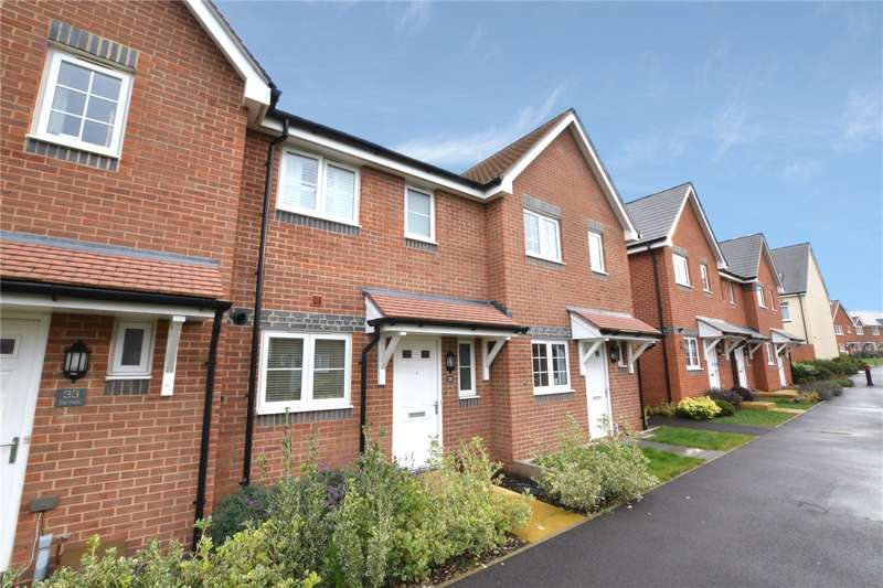 2 Bedrooms Terraced House for sale in Elk Path, Three Mile Cross, Reading, Berkshire, RG7