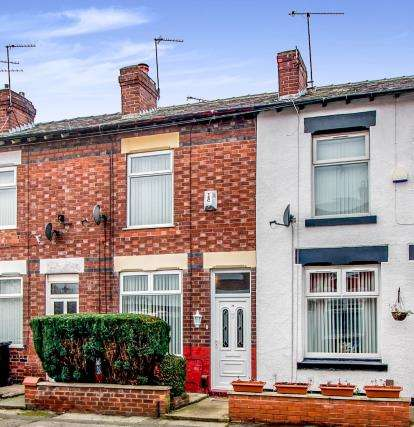 2 Bedrooms Terraced House for sale in Ward Street, Portwood, Stockport, Greater Manchester