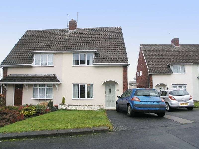 3 Bedrooms Semi Detached House for sale in DUDLEY, Hawkesley Road