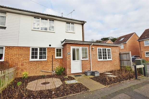 3 Bedrooms Semi Detached House for sale in Walton Road, BUSHEY, Hertfordshire