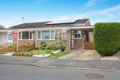 2 Bedrooms Bungalow for sale in Wheatley Crescent, Bluntisham, Huntingdon, Cambridgeshire