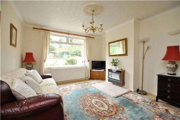 2 Bedrooms Semi Detached Bungalow for sale in Holcombe Close, Bathampton, BATH, BA2