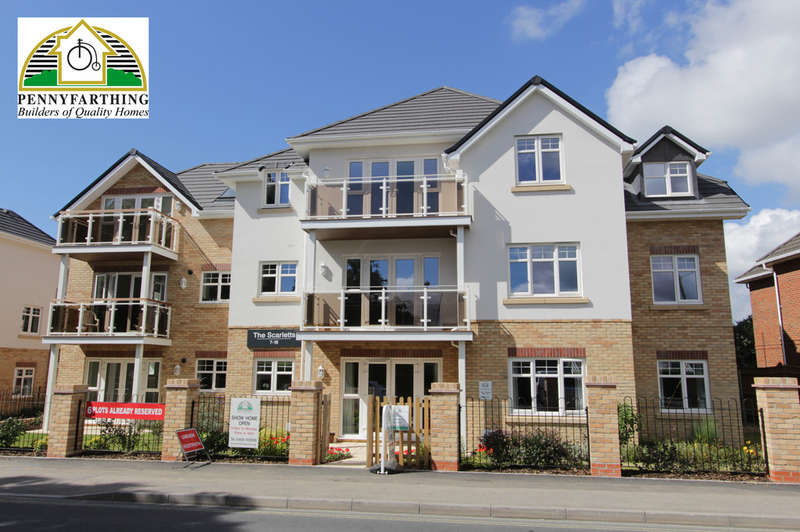 2 Bedrooms Apartment Flat for sale in Whitefield Road, New Milton