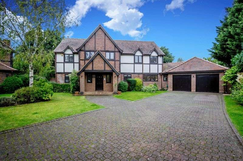 5 Bedrooms Detached House for sale in Carrington Close, Barnet, EN5