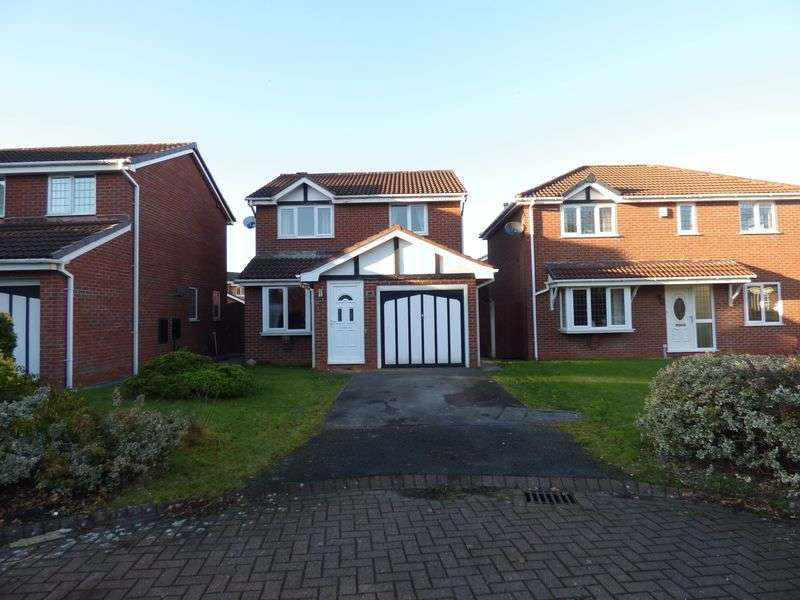3 Bedrooms Detached House for sale in Bicknell Close, Warrington
