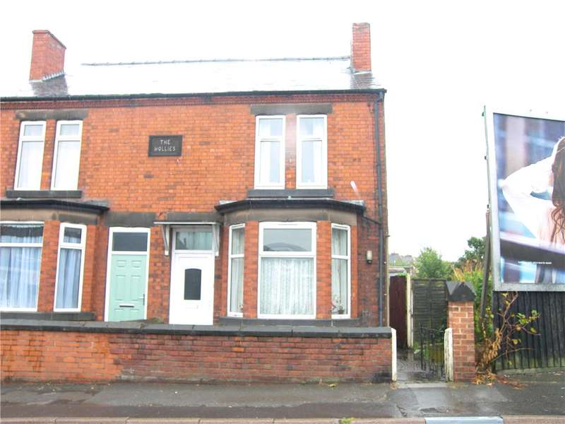 2 Bedrooms Semi Detached House for sale in Mansfield Road, Alfreton, Derbyshire, DE55