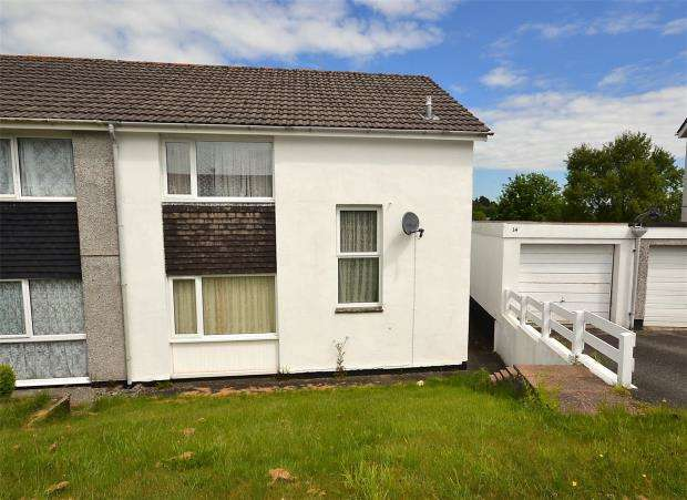 3 Bedrooms Semi Detached House for sale in Moorland Road, Launceston, Cornwall